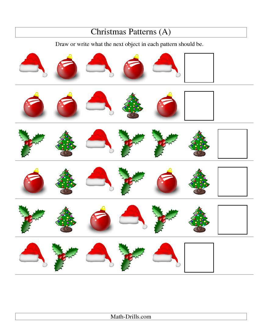 New Patterning Worksheets Today Here Is One Of Them One