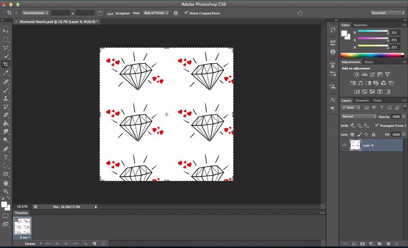 Wie Erstelle Ich Muster Aus Einem Bild Pattern Photoshop Diy Fabric