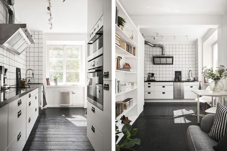 Klein Appartement Inrichting : Klein maar erg fijn appartement van 36m2 keuken inspiratie