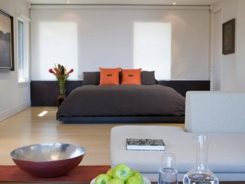 Relaxing And Harmonious Zen Bedrooms | Dormitorios | Pinterest ... on home library interior design, home office interior design, home hall interior design, home gym interior design, home study interior design, home bar interior design, home bathroom interior design, home den interior design,