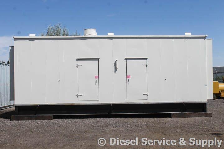 For Sale Unit 70110 Generac 600 Kw Standby Diesel Generator Set Model Idlc600 2mu Year 2014 22 Hours Run Since New Generators For Sale Dry Pack Generation