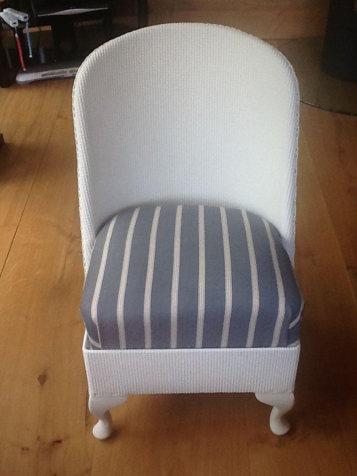 Lloyd Loom nursing chair after refurbishment | Craft ...