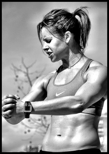 OMG, THOSE ABS. Jenna Wolfe, who's a personal trainer on top of her TODAY anchor gig, gives some advice for those needing motivation to stop slacking and get back to the gym.