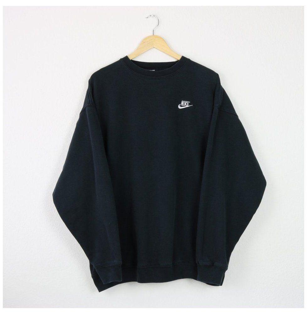 Vintage Faded Black Nike Sweatshirt Great Depop Black Nike Jumper Blacknikejump In 2021 Vintage Nike Sweatshirt Crewneck Sweatshirt Outfit Trendy Sweatshirt [ 998 x 978 Pixel ]