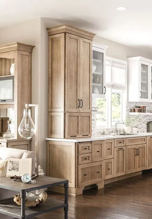 Ultimate Guide To The Hottest 2020 Kitchen Trends Rustic Kitchen Cabinets Kitchen Cabinet Design Interior Design Kitchen
