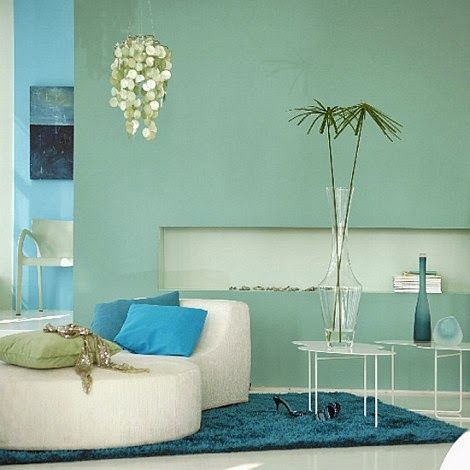 Very Best Home Colour Combination For Interior Walls Tropical Living Room Open Plan Living Room Blue Living Room Turquoise wall decor living room