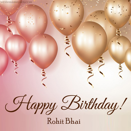 Successfully Write your name in image. Birthday card