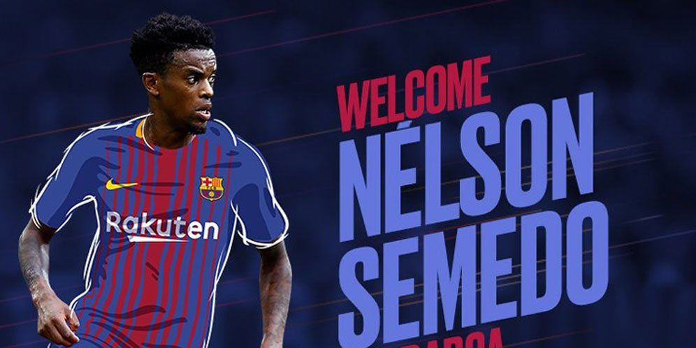 Barcelona Resmi Dapatkan Nelson Semedo Dari Benfica