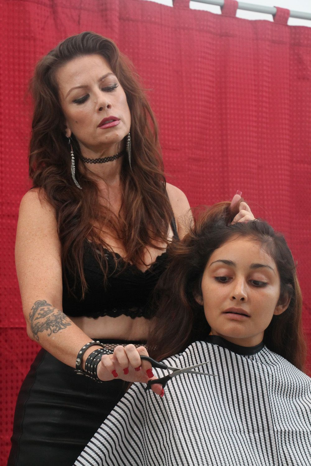 Forced Female Haircut : forced, female, haircut, Ready, Scissors..., Shaved, Women,, Forced, Haircut,