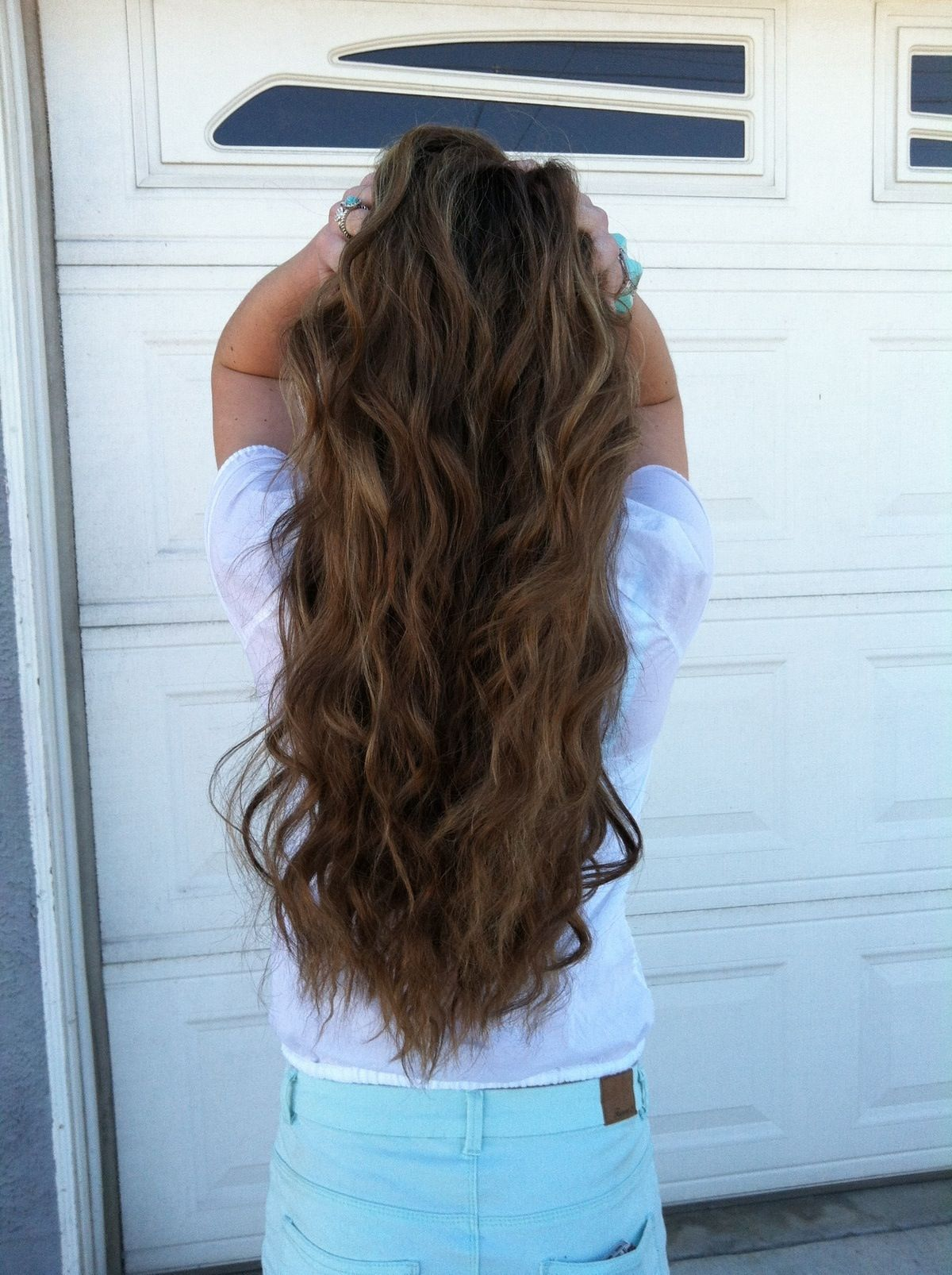 Loose Curl Perm Pictures Of Permed Hair On Medium Length Perms For