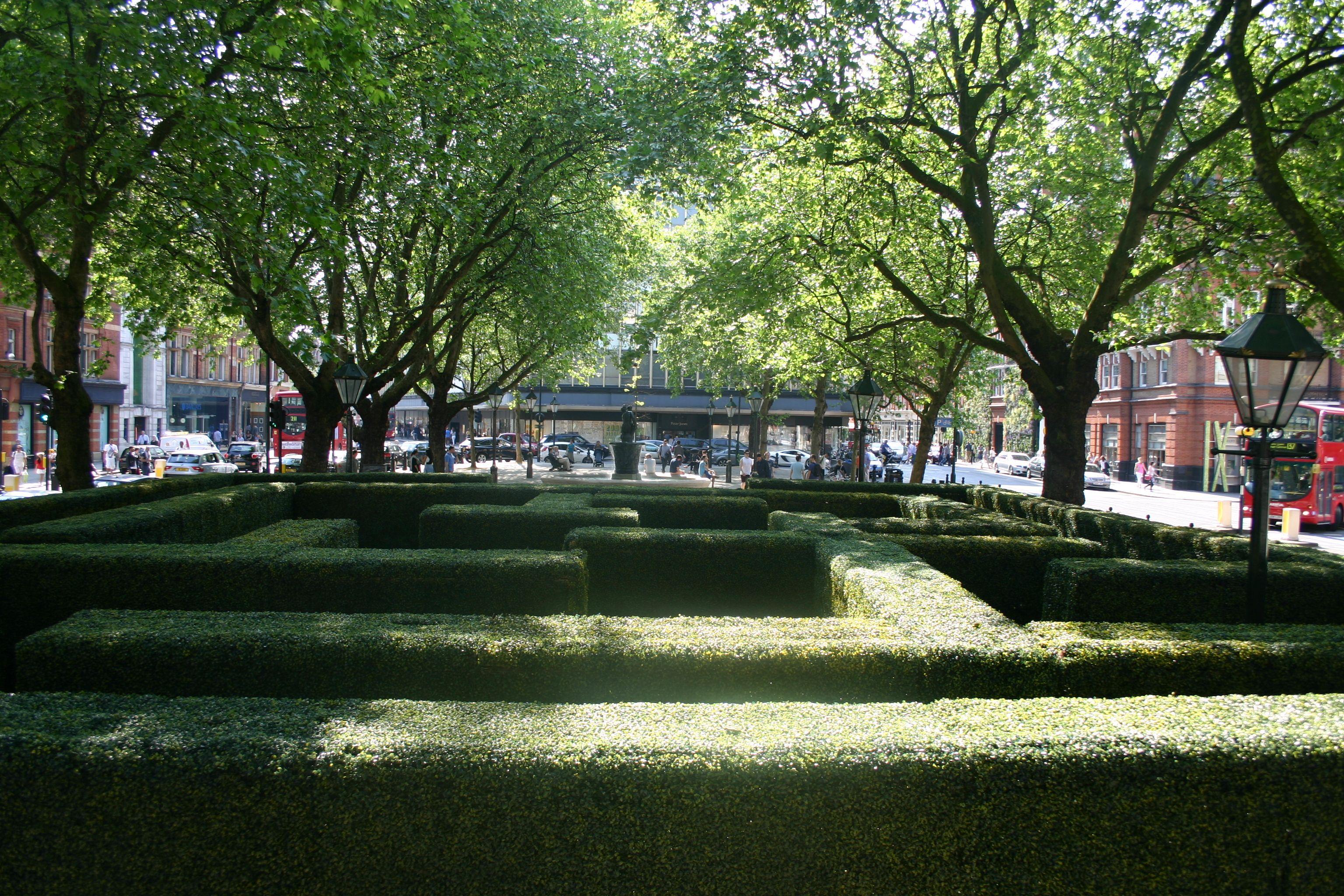 Slone Square Maze Production