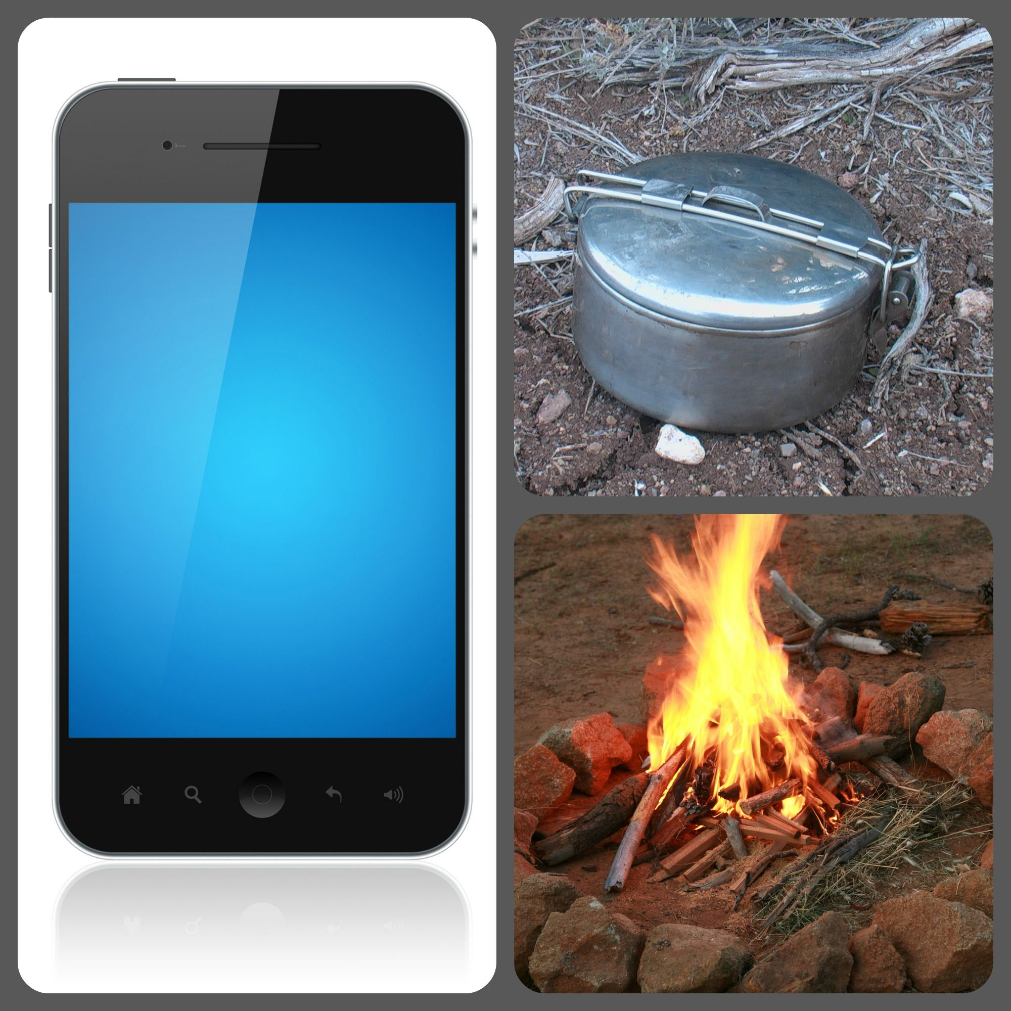 Trade your teens smart phone for a cooking pot for the weekend!
