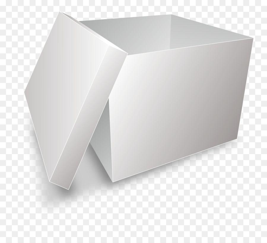 Paper Box Computer File Realistic Vector Cardboard Boxes Open On White Paper Box Cardboard Box Cardboard