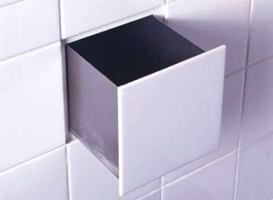 Bathroom Tile Storage - 15 Secret Hiding Places That Will Fool Even the Smartest Burglar