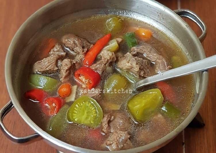 Resep Asem Asem Daging Oleh Xander S Kitchen Resep Makanan Dan Minuman Masakan Resep Masakan Indonesia