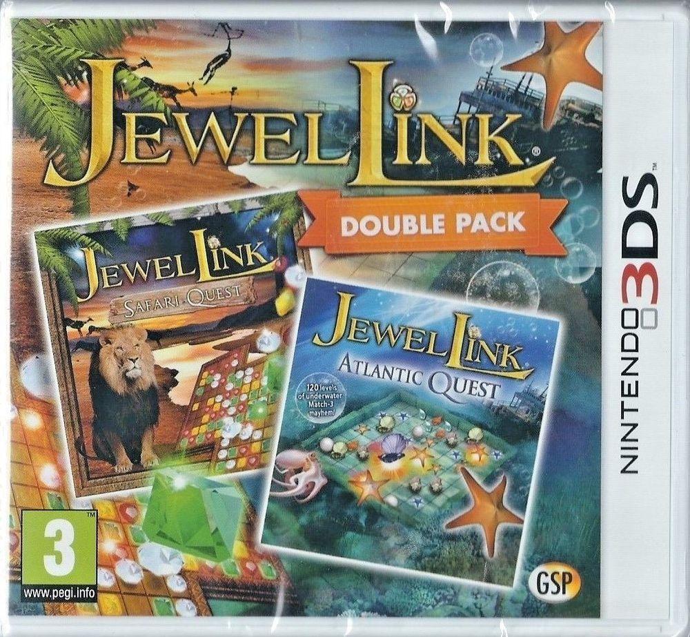 Jewel Link Double Pack Safari Quest Atlantic Quest