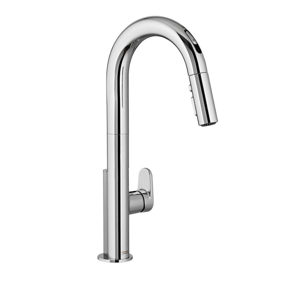 American Standard 4931380 Beale Single Handle Pull Down Kitchen Faucet With Selectronic Hands Free Technology Faucet Touchless Kitchen Faucet Touchless Faucet