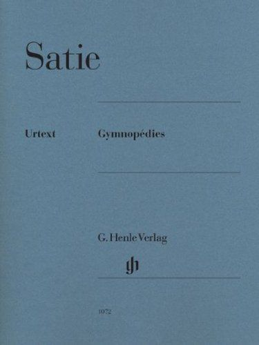 Partitions Henle Gymnopedies D Erik Satie
