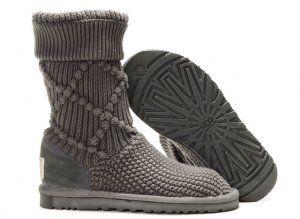 Faux 5879 Uggs 18463 Argyle Boots 5879 Classic Tricot Argyle Gris Vente | 5026c13 - www.vendingmatic.info