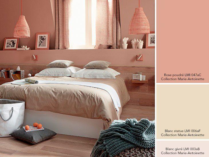 tout ici est raffinement quilibre et d licatesse rose poudr et blanc givr s 39 accordent. Black Bedroom Furniture Sets. Home Design Ideas