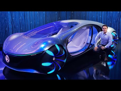Mercedes Vision AVTR Full Review Drive Interior Exterior