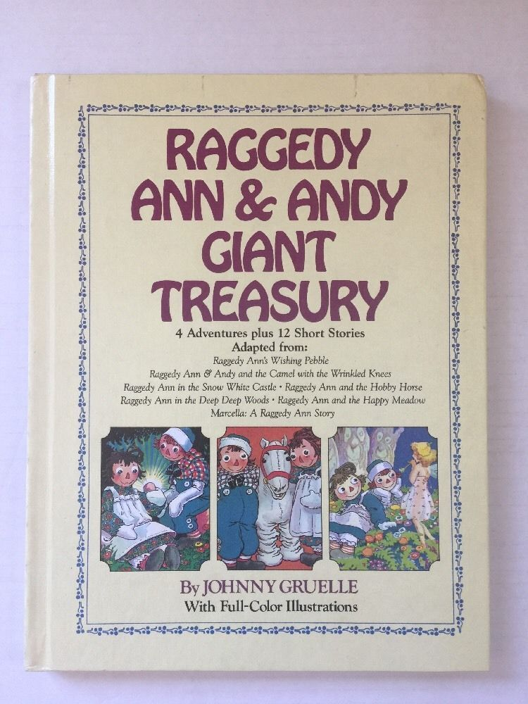 Raggedy Ann Any Giant Treasury Johnny Gruelle 4 Adventure 12 Storie