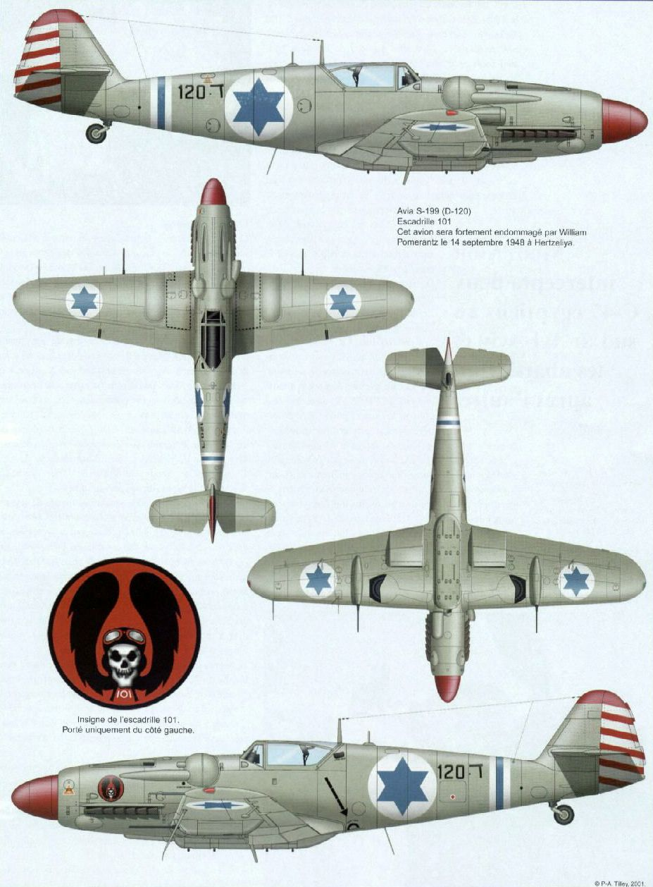 Israeli Air Force Avia S 199 Aircraft Colors Pinterest
