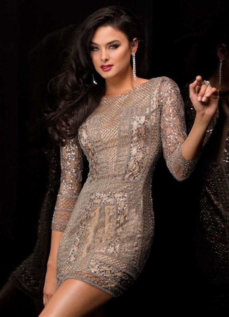 capture les mieux notés capture robe nouvel an et modèle court en dentelle beige | ROBES ...
