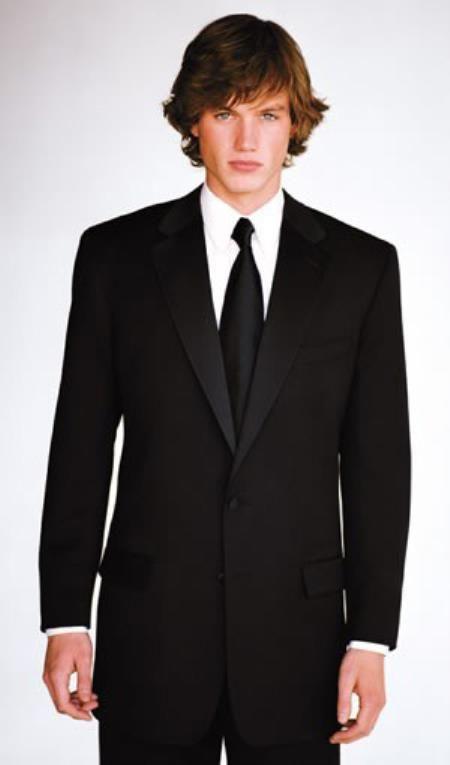 SKU#PN34 Calvin Klein Miami Two Button Slim Fit Wedding Tuxedo ...