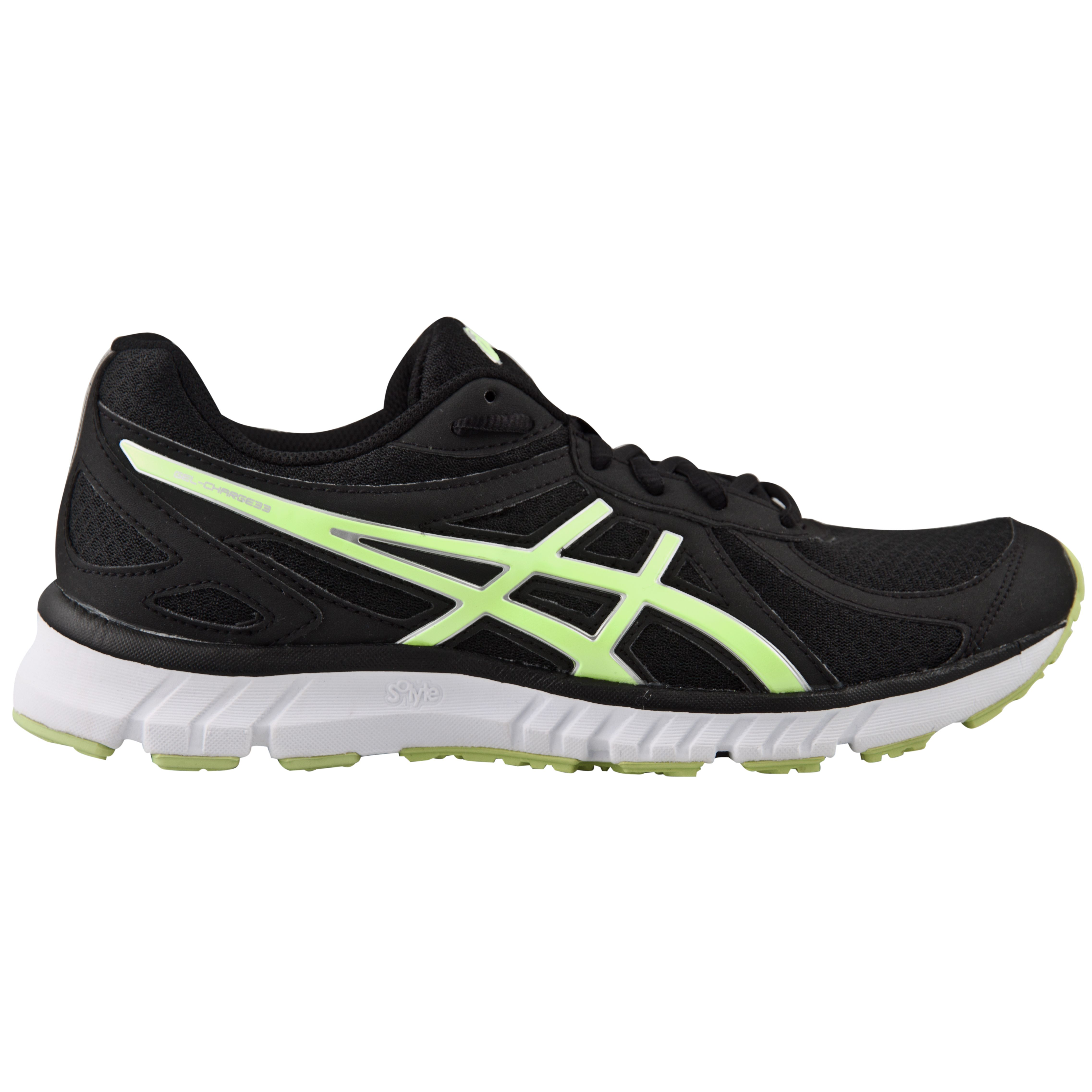 da7fbdc27 The Asics Gel-Charge 33 Men's Running Shoe. In Black and Yellow, this