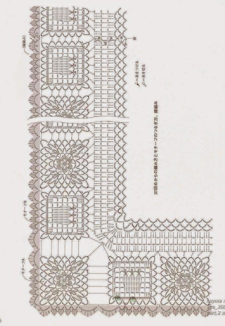 Hip & Kneuterig: Nog een mooie pocho met diagram/ Poncho with free ...