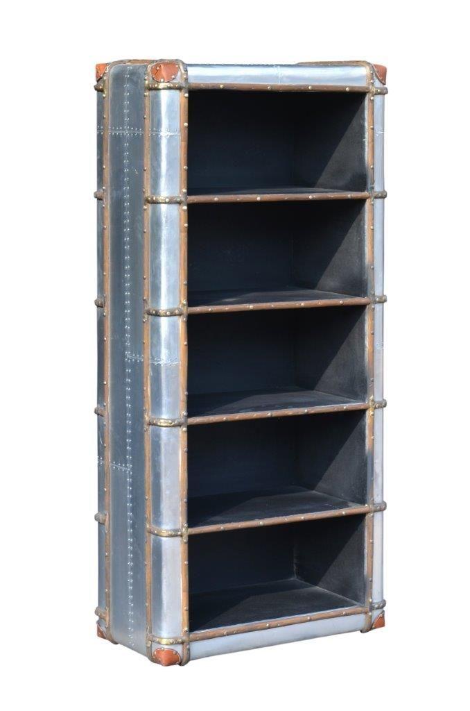 Pin lisääjältä Casa Padrino taulussa Flugzeug Aluminium Möbel - designer mobel bucherregal