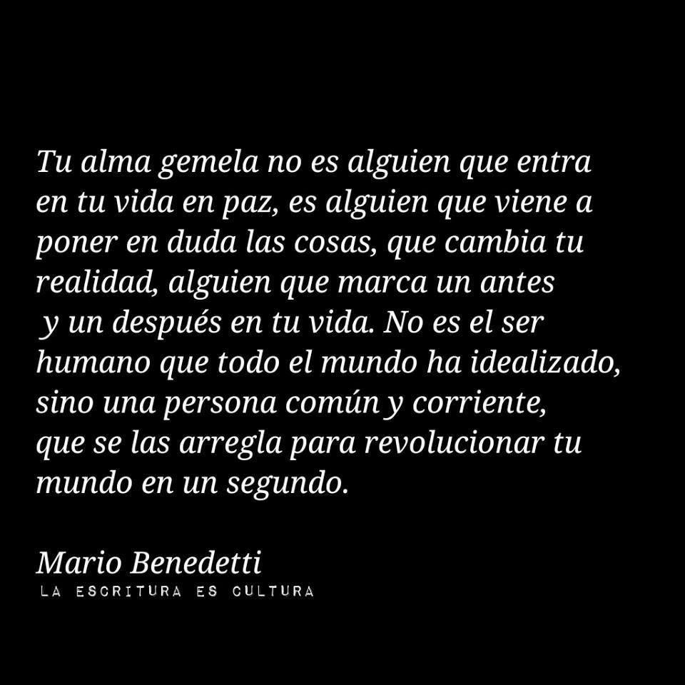 Escrito · Mario Benedetti Frases MarioFrases De AmorPalabras