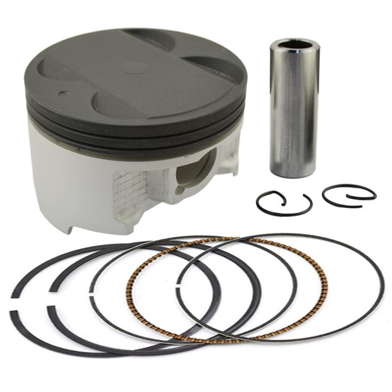 Motorcycle Engine Parts 50 Cylinder Bore Size 48 5mm: Motorcycle +50 83.5mm Piston & Piston Ring Kit For Suzuki