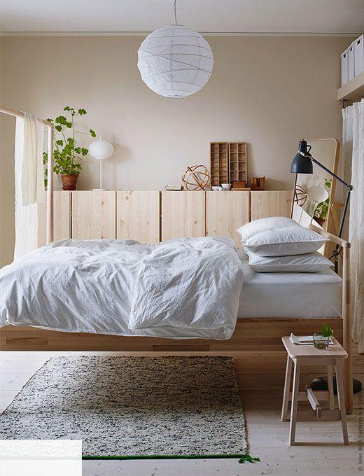 Sovrum inspiration IKEA Pinterest Quartos