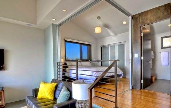 Desain Kamar Tidur Sempit Minimalis Sederhana Small Bedroom In