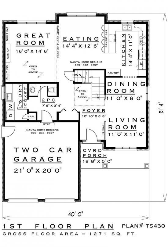 Two storey house plan ts430 nauta home designs my for Nauta home designs