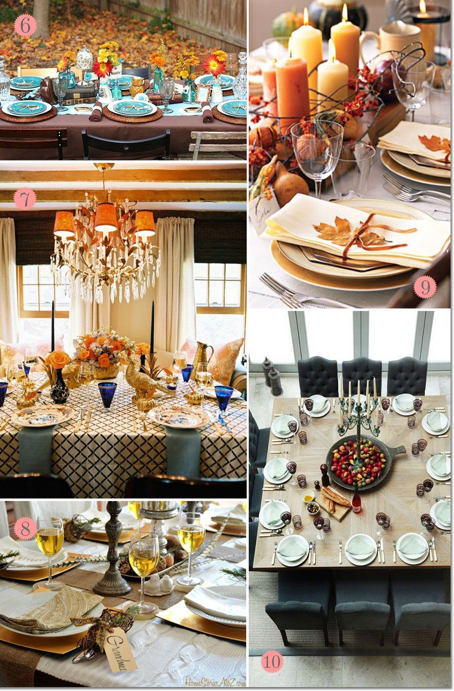 Thanksgiving Table Setting Ideas Modern Rustic Thanksgiving Table Settings 10 Great Ideas