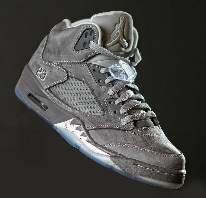 new styles 1ea3a 01f0b Wolf Grey' Air Jordan Retro 5 | Mens fashion | Sneakers ...