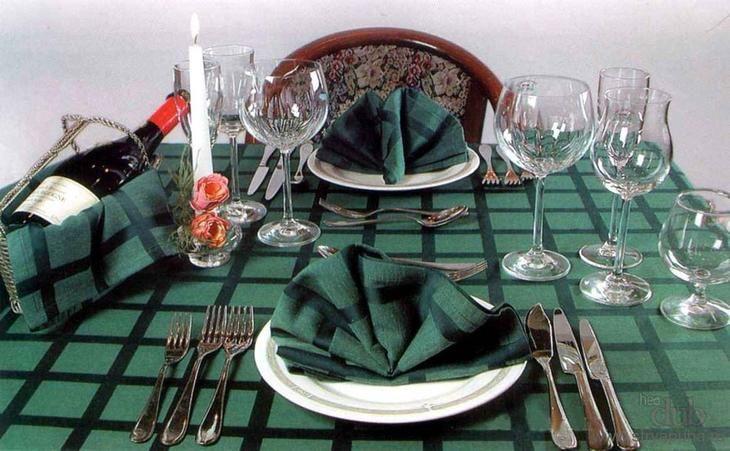 Правила сервировки стола к завтраку, обеду, ужину ...