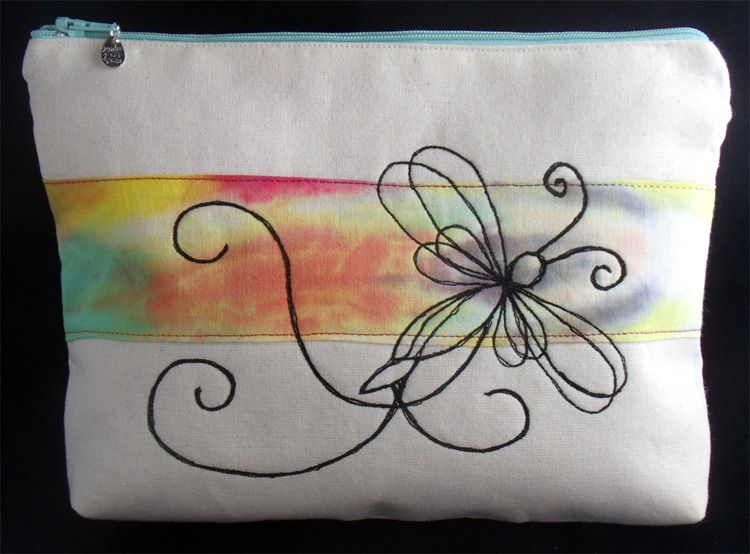 Zipped Pouch - Dragonfly https://www.etsy.com/uk/shop/StitchedNotions?ref=hdr_shop_menu