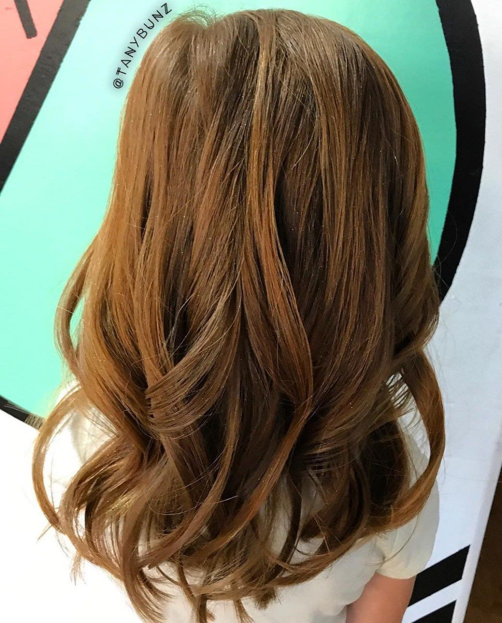 Women hair color brunette haircuts shag hairstyles with highlights