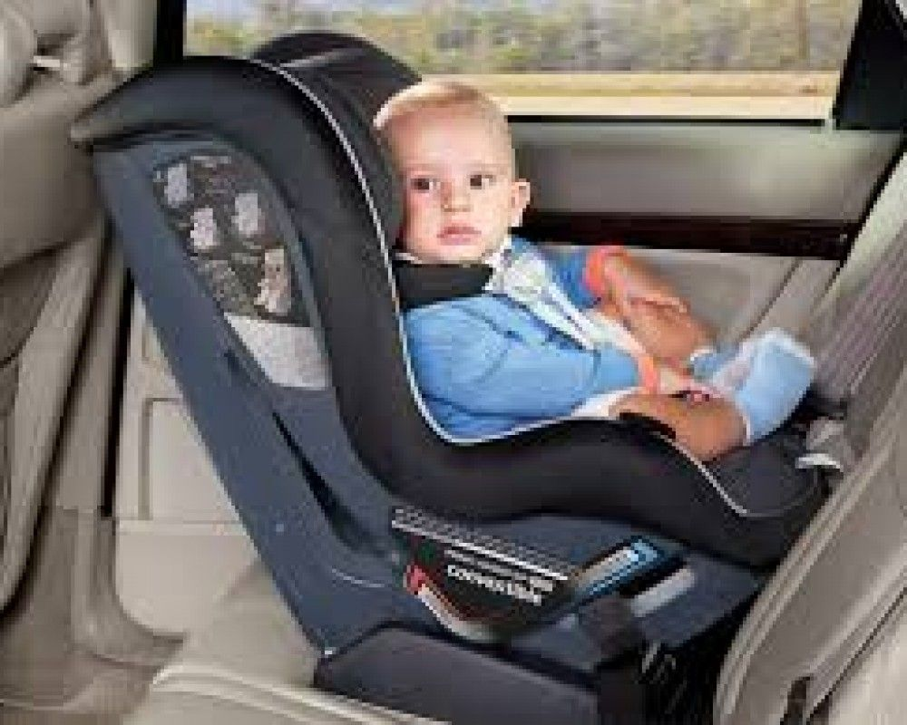 Car seats for children -It's the law. All children who travel in a