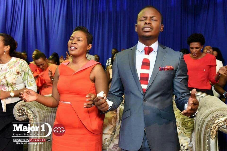 Prophet Bushiri And Wife Mary SERVANTS OF GOD I ADMIRE