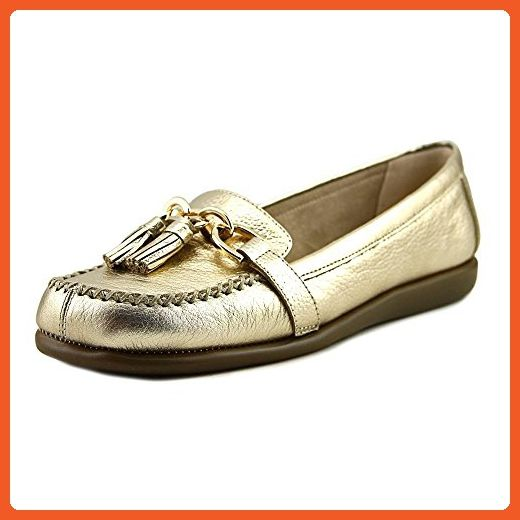 7d7a2ad4d6d5b Aerosoles Women's Super Soft Slip-On Loafer, Gold Leather, 6.5 M US -  Loafers and slip ons for women (*Amazon Partner-Link)