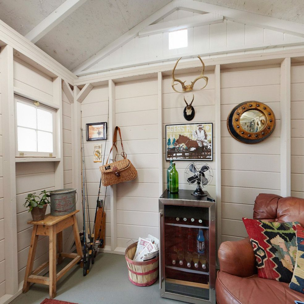 Shed Renovation And Shed Organization Ideas At The Home