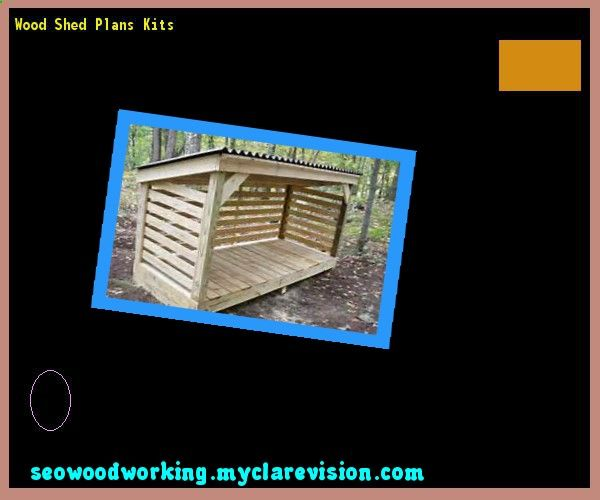 Wood Shed Plans Kits 083630 - Woodworking Plans and Projects!