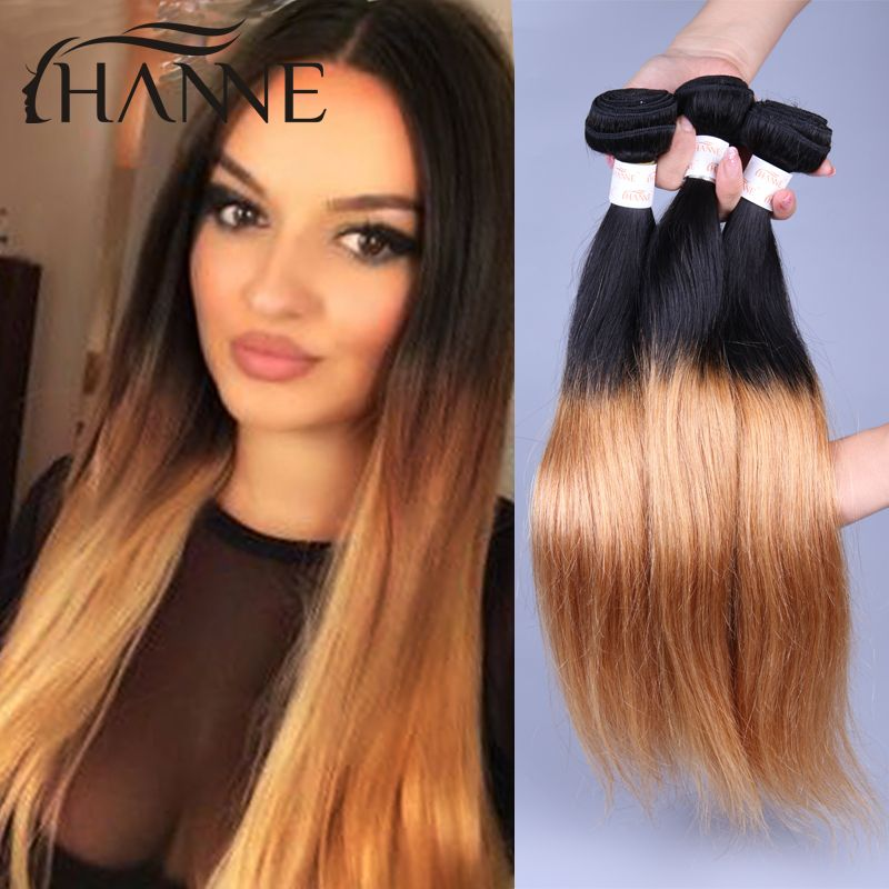 Find More Human Hair Extensions Information About Dark Roots Honey