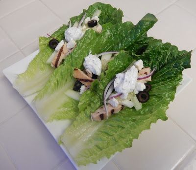 www.theworldaccordingtoeggface.com Greek Lettuce Wrap Taco and 2 other protein packed, quick, easy, no-cook, family friendly, delicious dinner ideas (recipes on the blog - w/ad: Foster Farms
