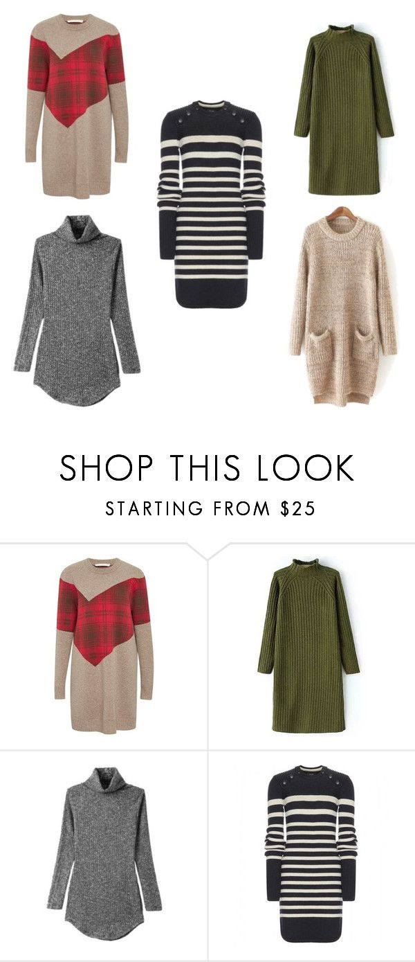 """Sweater Dressing"" by forthearchive on Polyvore featuring Thakoon Addition and Isabel Marant"